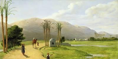 Wall Art - Painting - Asyut On The Nile  1873 Wall Art by John Rogers Herbert