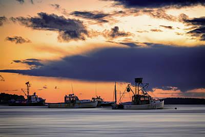 Photograph - At Anchor At Lookout Point by Rick Berk