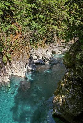 Wall Art - Photograph - At Blue Pools New Zealand by Joan Carroll