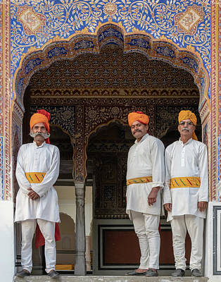 Photograph - At Mandawa Castle,india by Usha Peddamatham