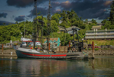 Photograph - At Rest In Port by Bill Posner