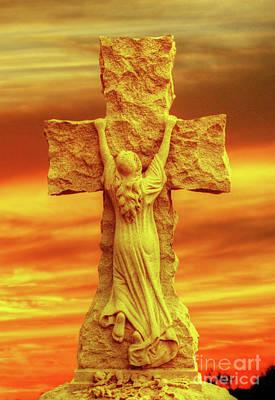 Digital Art - At The Cross Of Jesus by Randy Steele