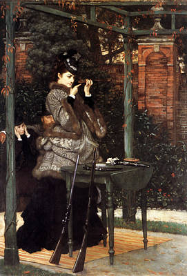 Painting - At The Rifle Range 1869  by James Jacques Joseph Tissot