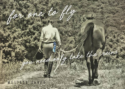Photograph - At The Show Quote by JAMART Photography