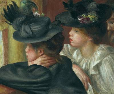 Antlers - At the Theatre, the Box by Pierre Auguste Renoir