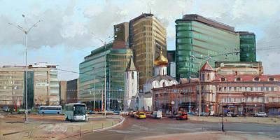 Nirvana - At the turn of the ages. Tverskaya Zastava by Alexey Shalaev