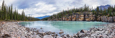 Photograph - Athabasca River Panorama by Alma Danison