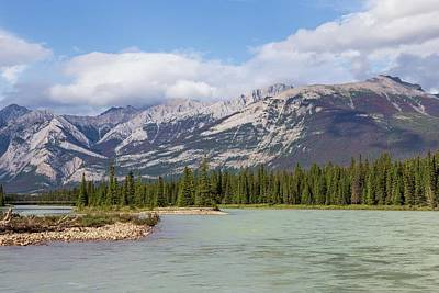 Photograph - Athabasca River by Paul Schultz