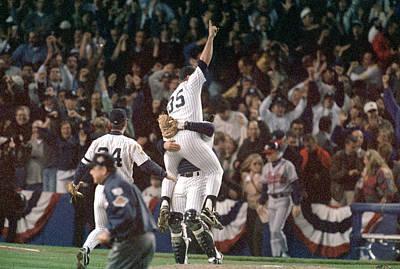 Photograph - Atlanta Braves V New York Yankees by Al Bello