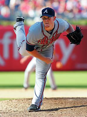 Photograph - Atlanta Braves V Philadelphia Phillies by Rich Schultz