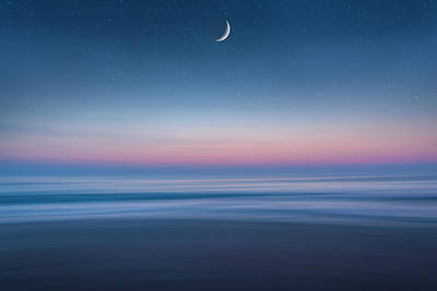 Photograph - Atlantic Beach Predawn Elements by Steven Sparks