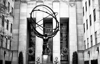 Photograph - Atlas On 5th Avenue New York City by John Rizzuto