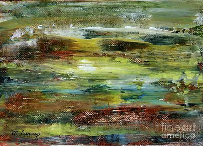 Painting - Atmospheric Merging by Michelle Curry
