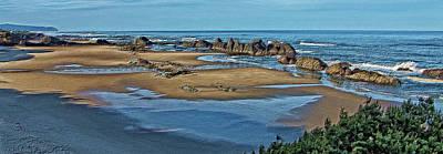 Photograph - Atop Seal Rock Beach by Thom Zehrfeld