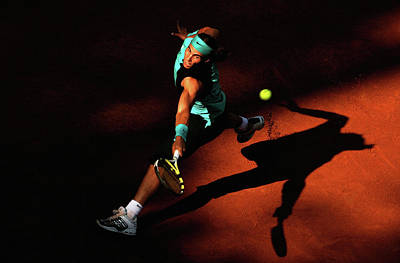 Photograph - Atp Masters Series - Rome - Day Five by Clive Brunskill