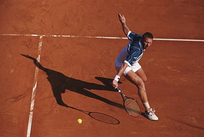 Photograph - Atp Monte Carlo Open by Clive Brunskill