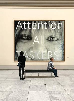 Painting - Attention All Taskers Presidential Material by Catherine Lott