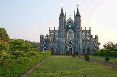 Karnataka Photograph - Attur Church by Desmond Lobo
