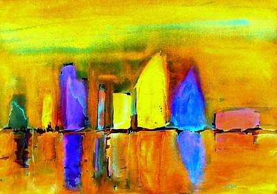 Painting - Aubade - To Love-dedicated by VIVA Anderson