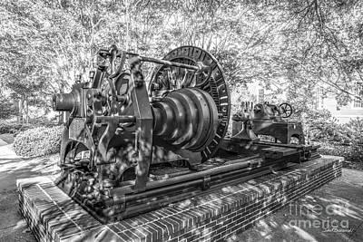 Photograph - Auburn University The Lathe by University Icons