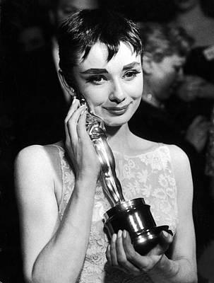 Photograph - Audrey Hepburn by Ralph Morse