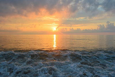 Photograph - August Obx Sunrise by Barbara Ann Bell