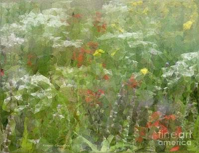 Digital Art - August Prairie by Kathie Chicoine
