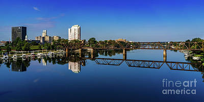 Photograph - Augusta Ga Savannah River Panorama by Sanjeev Singhal