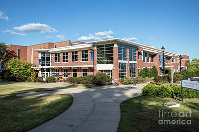 Photograph - Augusta University Student Activity Center Ga by Sanjeev Singhal