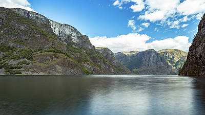 Photograph - Aurlandsfjord, Norway by Andreas Levi