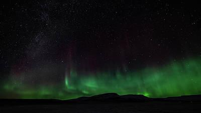 Photograph - Aurora Borealis 2018 #1 by Framing Places