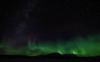 Photograph - Aurora Borealis 2018 #2 by Framing Places