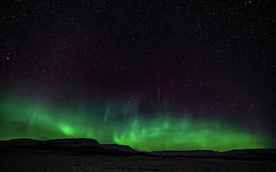 Photograph - Aurora Borealis 2018 #3 by Framing Places