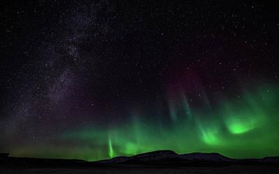Photograph - Aurora Borealis 2018 #4 by Framing Places