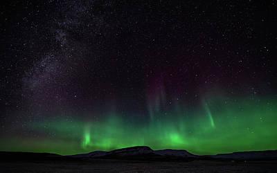 Photograph - Aurora Borealis 2018 #5 by Framing Places