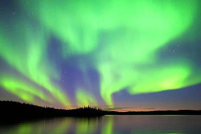 Photograph - Aurora Borealis, Northern Lights by Wayne Lynch