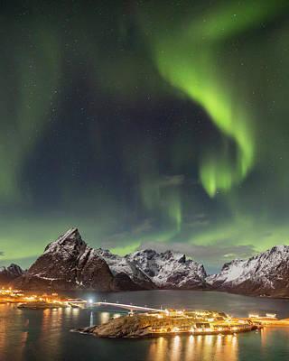 Photograph - Aurora In Lofoten by Alex Conu