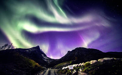 Photograph - Aurora by Jordanwhipps1987