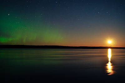 From The Kitchen - Aurora, Quebec 23 by Carl Young