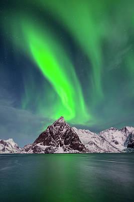 Photograph - Aurora Tornado by Michael Blanchette