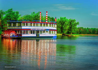Photograph - Ausable River Queen by LeeAnn McLaneGoetz McLaneGoetzStudioLLCcom