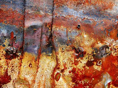 Photograph - Aussie Galvanised Iron #1 by Lexa Harpell