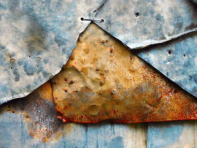 Photograph - Aussie Galvanised Iron #19 by Lexa Harpell