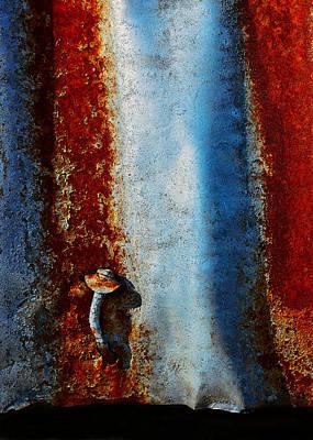Photograph - Aussie Galvanised Iron #22 by Lexa Harpell