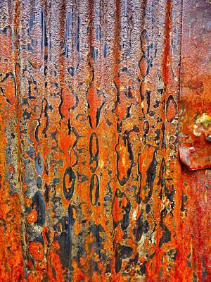 Photograph - Aussie Galvanised Iron #3 by Lexa Harpell