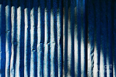 Photograph - Aussie Galvanised Iron #5 by Lexa Harpell
