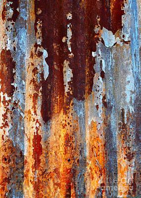 Photograph - Aussie Galvanised Iron #6 by Lexa Harpell