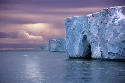 Austfonna Ice Cap Art Print by Chase Dekker Wild-life Images