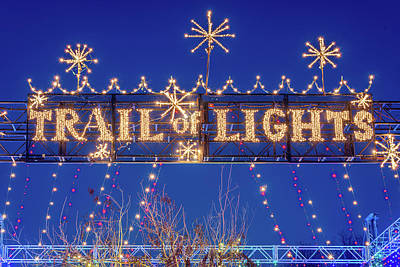 Photograph - Austin Trail Of Lights by Slow Fuse Photography