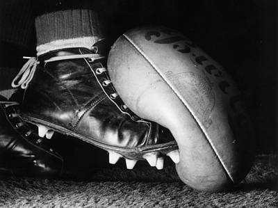 Photograph - Australian Rules by Central Press